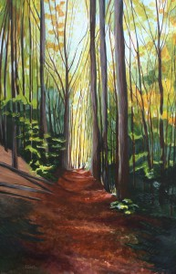 autumn-path-acrylic-painting