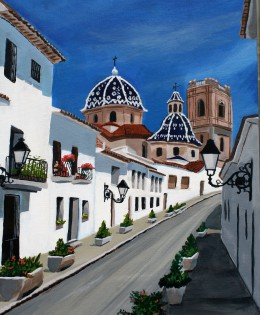 Health to all in Altea, Spain