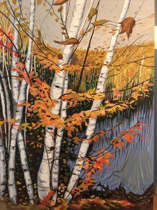 autumn symphony painting
