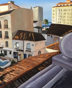 Painting of Estepona, Spain