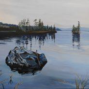 Morning Calm on Dunlop Lake